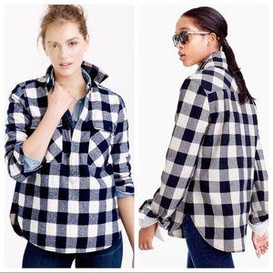 J Crew Buffalo Check Jacket Shirt XS